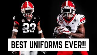 Georgia Bulldogs NEW Uniform Reaction