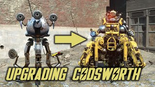 Fallout 4 - Automatron - Upgrading Codsworth