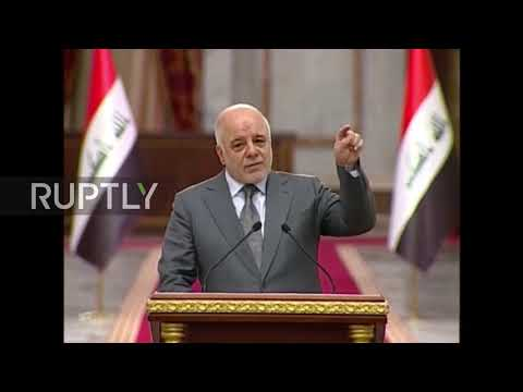 Iraq: PM Abadi calls for 'partnership' of Kurdish-Iraq forces in war torn region