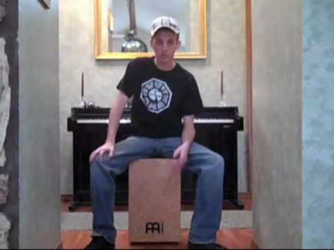 the cajon box drum tutorial the basics demonstration youtube. Black Bedroom Furniture Sets. Home Design Ideas