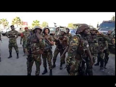 64 Infantry Regiment storm begins on-site counter terrorism at Accra Mall