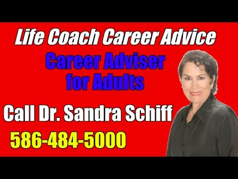 Career Adviser for Adults   Life Coach Career Advice   Career Guidance and Counselling in Michigan