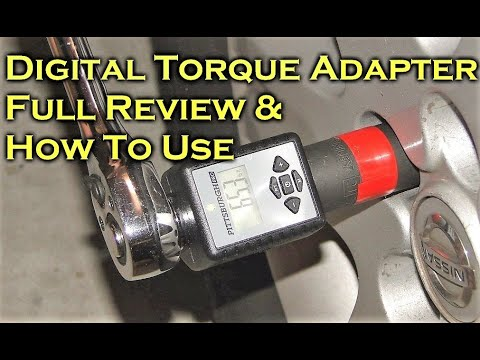 Digital Torque Adapter Turn Ratchet Into Torque Wrench Full