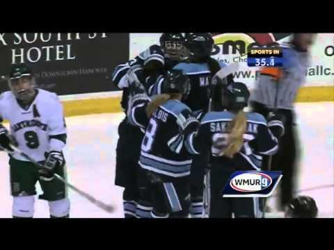 Maine womens hockey defeats Dartmouth