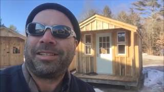 """""""the 10x16 Sugar Shack"""" - Diy Tiny House - Otr Over The Road Legal - Off Grid Capable"""