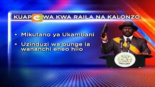NASA wapanga kuwaapisha Raila na Kalonzo, Jan 30