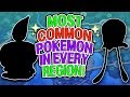 The Most COMMON Pokemon In Every Region!
