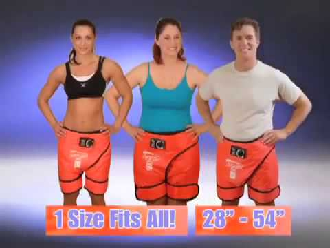 Βερμούδα Εφίδρωσης για Αδυνάτισμα & Απώλεια Βάρους - Sauna Pants