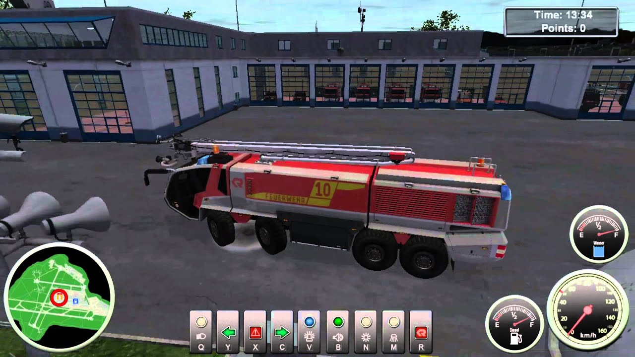 Let S Play Airport Firefighter Simulator Ep17 Youtube