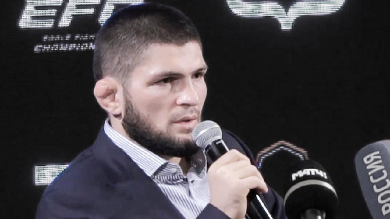 Могу вернуться в UFC за 100 миллионов долларов / Пресс конференция Хабиба Нурмагомедова