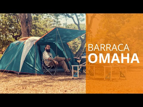 Barraca para camping resistente a chuva Omaha - NTK