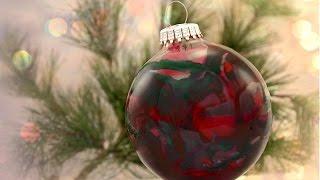 How To Make A Crayon Christmas Ornament
