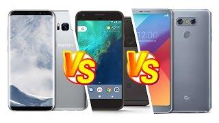 Foto test Samsung Galaxy s8 vs. LG G6 vs. Googe Pixel