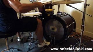 Rafael Dolinski - Samba Baião Ostinato - Paiste - Evans