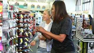 To help prepare the First Lady for life after the White House, Ellen took her to CVS Pharmacy to pick up a few things.