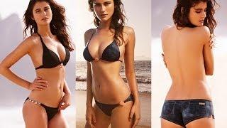 Katarina Ivanovska Sizzling her Sexy Cleavage in Swimwear - Pt1