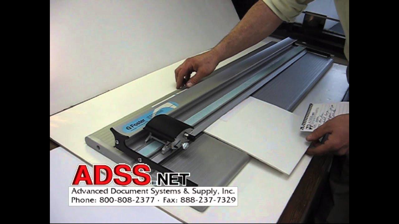 Foster Keencut 40 Inch Gpc Substrate Foam Board Cutter