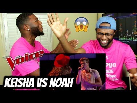 The Voice 2017 Battle - Keisha Renee vs. Noah Mac: