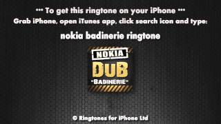 Nokia Badinerie Dubstep Remix Ringtone