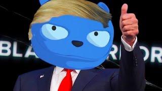Black Mirror: Donald Trump is Waldo