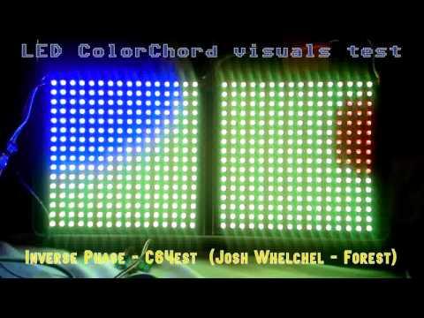 Inverse Phase - C64est (ColorChord LED visuals)