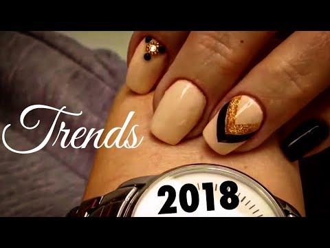 CREATING THE NEW NAIL ART TECHNIQUE ON GEL OMBRE NAILS! SUMMER 2017 Tutorials for beginners at home