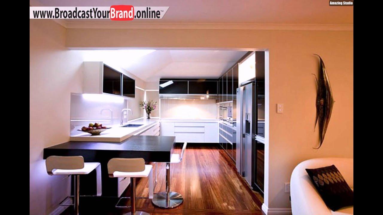 schwarz wei ideen f r led k chen beleuchtung youtube. Black Bedroom Furniture Sets. Home Design Ideas