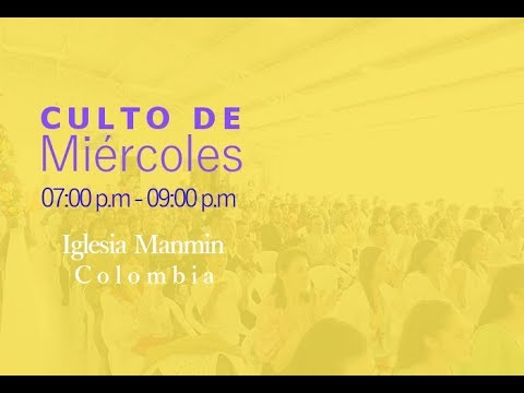 Culto de Miércoles Noviembre 08 de 2017   GCNTV Colombia - Manmin Church