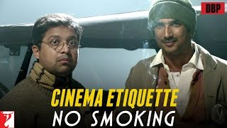 'Cinema Etiquette-No Smoking' - In association with PVR - Detective Byomkesh Bakshy