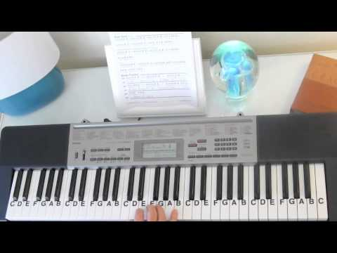 How To Play This Little Light Of Mine Sunday School Song