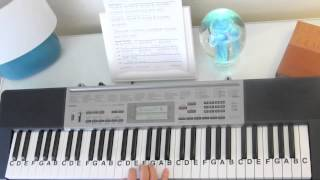 How to Play ~ This Little Light of Mine ~ Sunday School Song ~ LetterNotePlayer ©