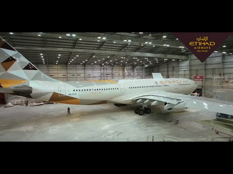 Behind The Scenes of Aircraft Maintenance‎ - Etihad Airways Engineering
