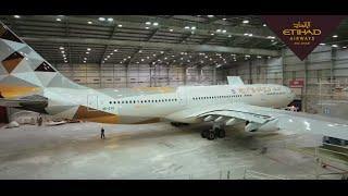 Behind The Scenes of Aircraft Maintenance - Etiha...