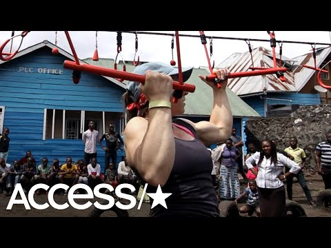 'American Ninja Warrior' Contestant Builds Incredible Obstacle Course For Children In Congo