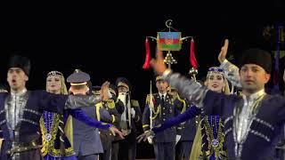 Азербайджанский марш на Красной площади. Репортаж «Москва-Баку» с фестиваля «Спасская башня»