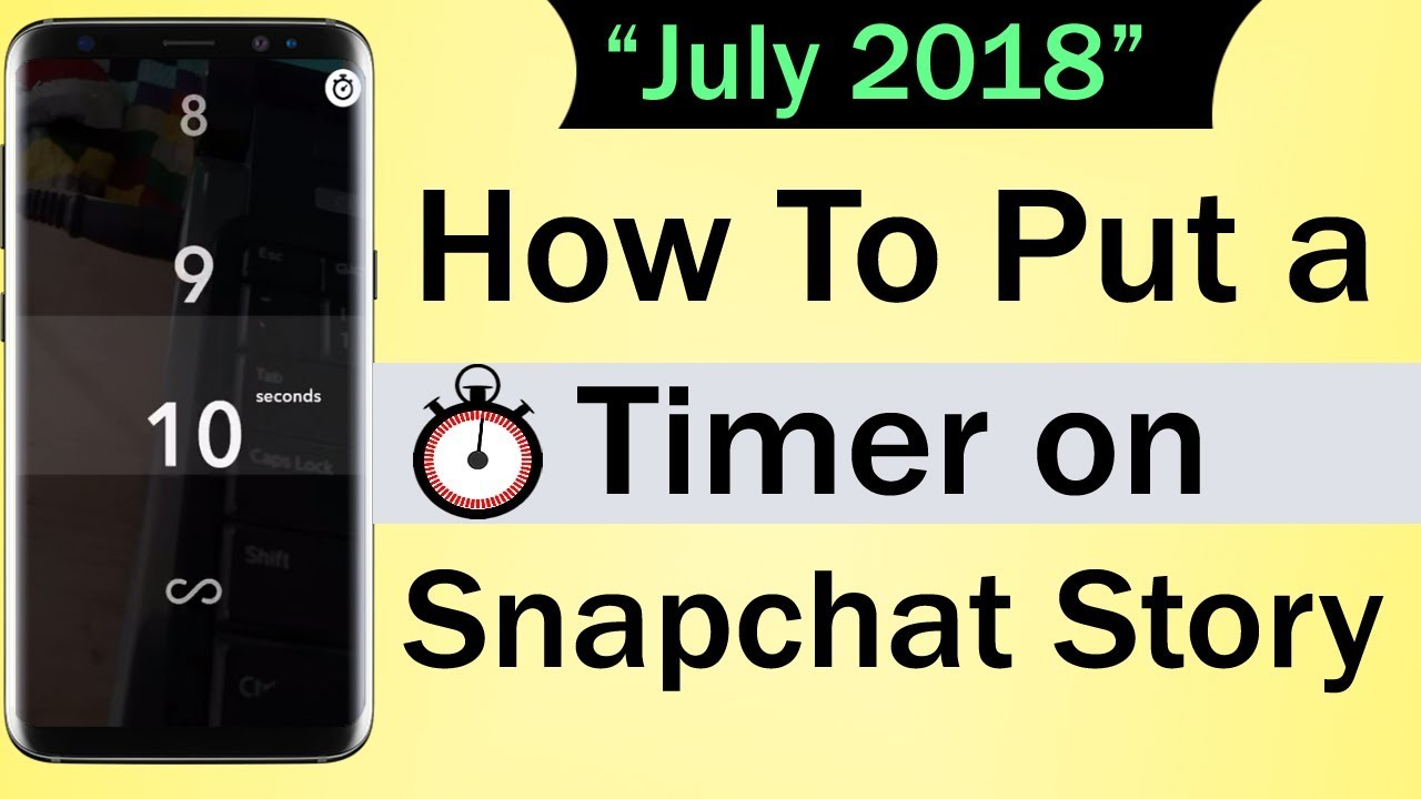 maxresdefault - How To Get Rid Of The Timer On Snapchat