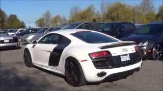 Audi R8 V10 w/ Tubi Exhaust- Startups & LOUD Accelerations!