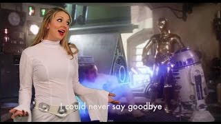 Taylor Swift Blank Space Parody (Star Wars The Force Awakes and Christmas Version)