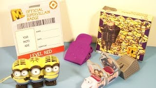 2010 DESPICABLE ME SET OF 4 HARDEE