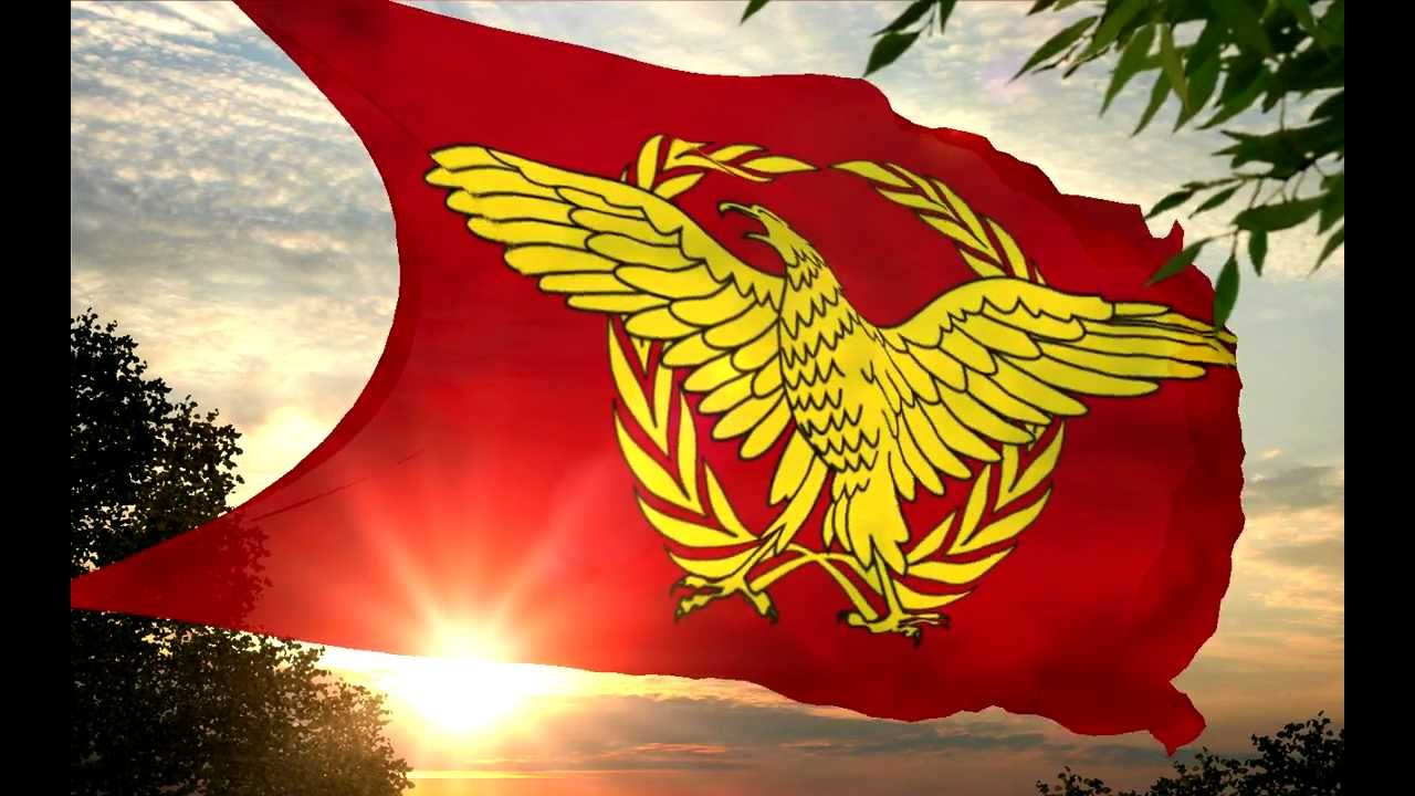 Image result for ancient roman empire flag