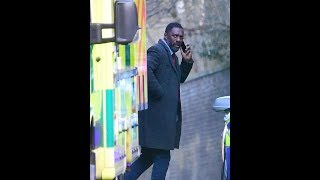 Idris Elba s hoots Luther for first time since proposing