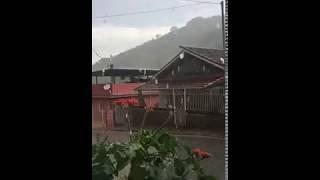 Chuva chegando à Rio Preto (MG)
