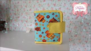 Como fazer uma Mini carteirinha FÁCIL e RÁPIDO com Arte de Paninho