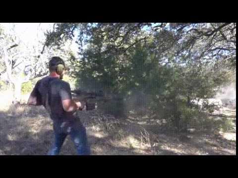 Супер мужик 50 калибер винтовки, по одной в руке