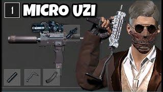 SCOPED Micro Uzi is The *new* BEST Gun in PUBG (Erangel 2.0)