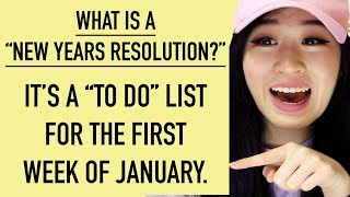 New Years Resolutions???