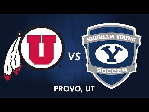 BYU Men's Soccer vs University of Utah - 27 September 2017