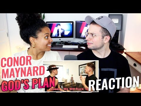 Conor Maynard - God's Plan (SING OFF vs. His Younger Brother) | REACTION