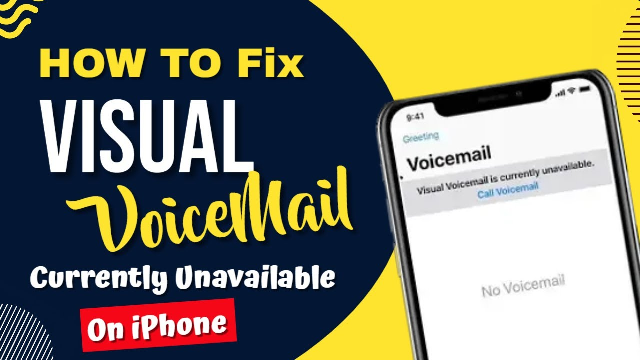 how to turn on visual voicemail on iphone 4