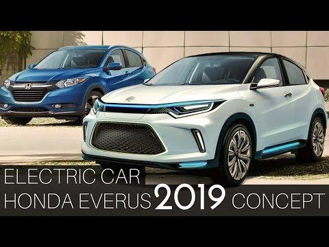 Honda Everus EV 2019 concept A tiny electric vehicle 2018 Beijing Auto Show